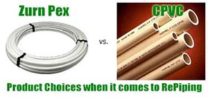 Product Choices When It Comes Time to Repipe your Home or Business